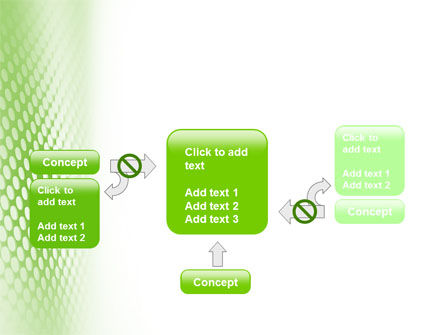 Green Grid PowerPoint Template Slide 13