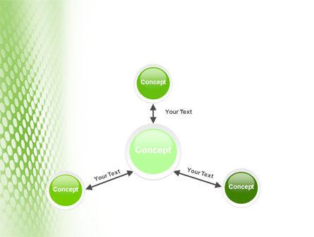Green Grid PowerPoint Template Slide 14