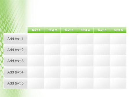 Green Grid PowerPoint Template Slide 15