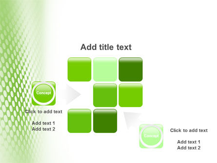 Green Grid PowerPoint Template Slide 16