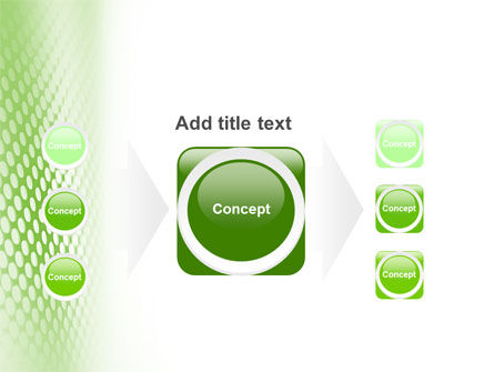 Green Grid PowerPoint Template Slide 17