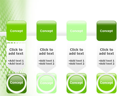 Green Grid PowerPoint Template Slide 18