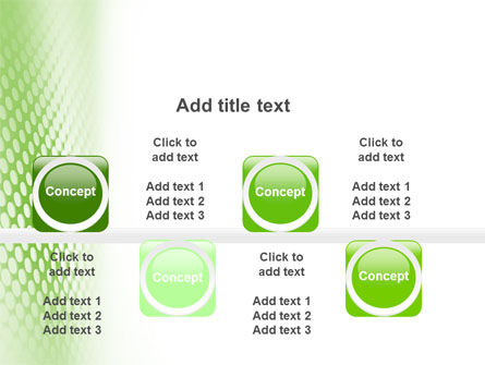 Green Grid PowerPoint Template Slide 19