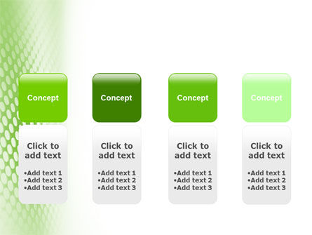Green Grid PowerPoint Template Slide 5