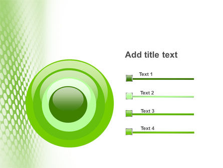 Green Grid PowerPoint Template Slide 9