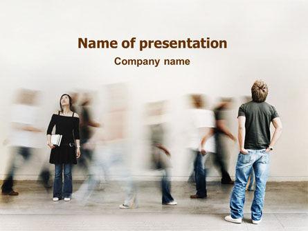 People: Gesellschaft PowerPoint Vorlage #01586