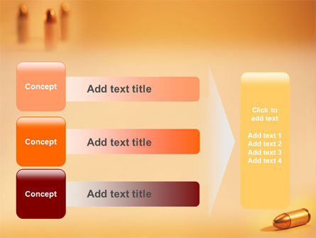 Bullet PowerPoint Template Slide 12