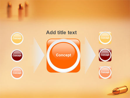 Bullet PowerPoint Template Slide 17