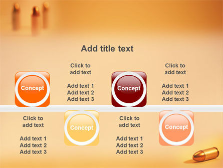 Bullet PowerPoint Template Slide 19