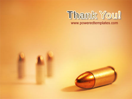 Bullet PowerPoint Template Slide 20