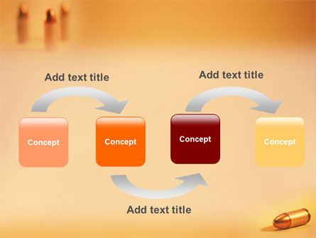 Bullet PowerPoint Template, Slide 4, 01589, Military — PoweredTemplate.com