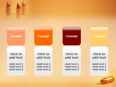 Bullet PowerPoint Template Slide 5