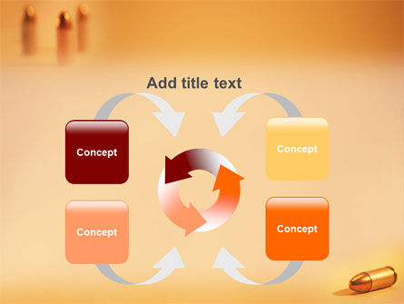 Bullet PowerPoint Template Slide 6