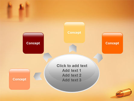 Bullet PowerPoint Template Slide 7