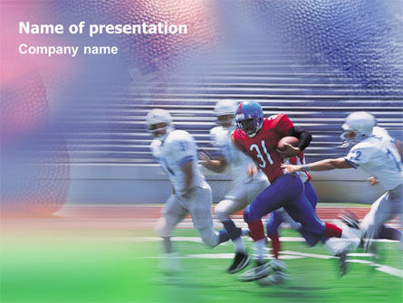 American Football Arizona Cardinals PowerPoint Template, 01590, Sports — PoweredTemplate.com