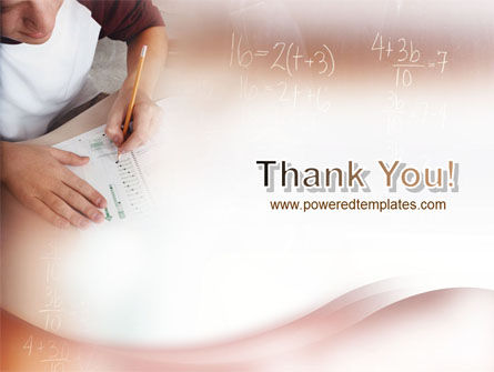 Mathematics PowerPoint Template Slide 20