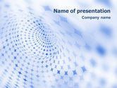 Abstract/Textures: Blue Abstract PowerPoint Template #01592