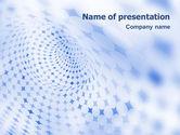Abstract/Textures: Templat PowerPoint Abstrak Biru #01592