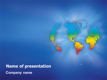 Global: Continental PowerPoint Template #01593