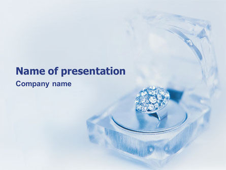 Jewelry PowerPoint Template, 01596, Careers/Industry — PoweredTemplate.com