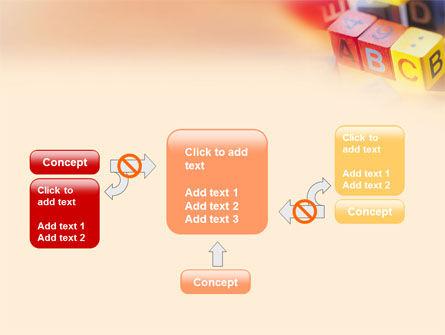 ABC Educational Cubes PowerPoint Template Slide 13