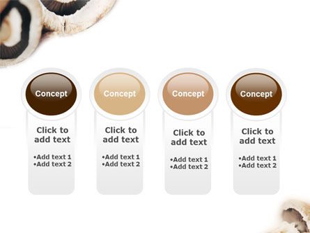 Mushrooms PowerPoint Template Slide 5