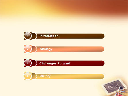 ABC PowerPoint Template, Slide 3, 01603, Education & Training — PoweredTemplate.com