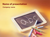 Education & Training: ABC PowerPoint Template #01603