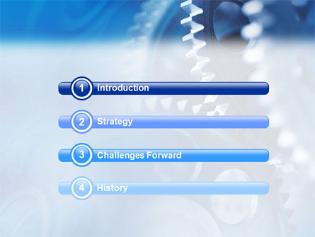 Mechanism PowerPoint Template, Slide 3, 01604, Utilities/Industrial — PoweredTemplate.com