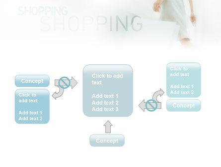 Women On Shopping PowerPoint Template Slide 13
