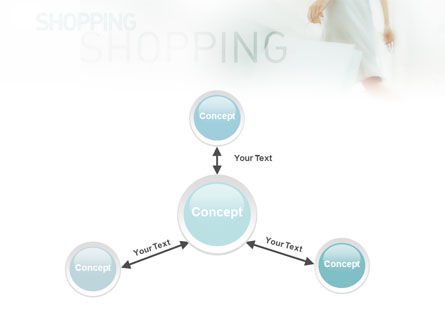 Women On Shopping PowerPoint Template Slide 14