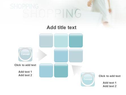 Women On Shopping PowerPoint Template Slide 16