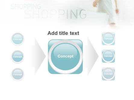 Women On Shopping PowerPoint Template Slide 17