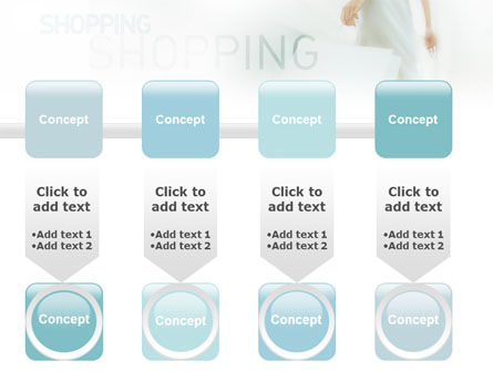 Women On Shopping PowerPoint Template Slide 18