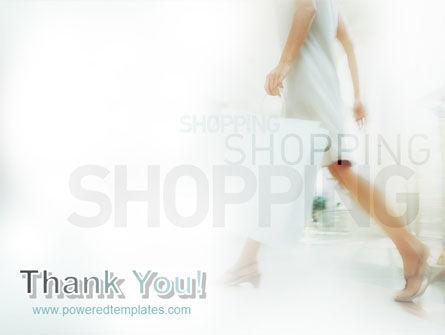 Women On Shopping PowerPoint Template Slide 20