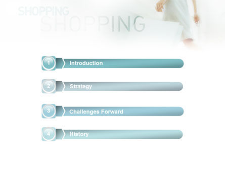 Women On Shopping PowerPoint Template, Slide 3, 01607, Business Concepts — PoweredTemplate.com