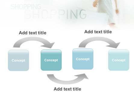 Women On Shopping PowerPoint Template, Slide 4, 01607, Business Concepts — PoweredTemplate.com