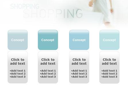 Women On Shopping PowerPoint Template Slide 5
