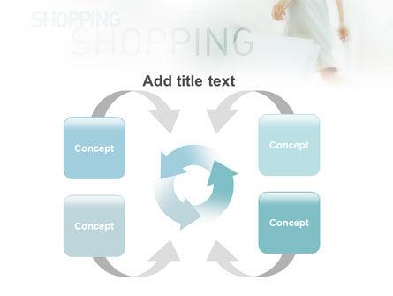 Women On Shopping PowerPoint Template Slide 6