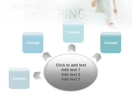 Women On Shopping PowerPoint Template Slide 7