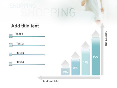 Women On Shopping PowerPoint Template Slide 8