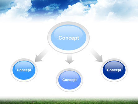 Cross PowerPoint Template, Slide 4, 01608, Religious/Spiritual — PoweredTemplate.com