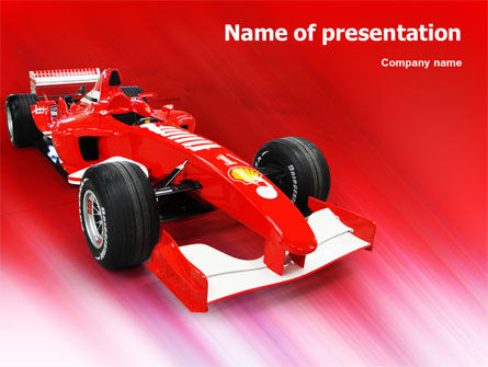 Sports: Modelo do PowerPoint - nascar #01610