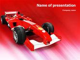 Sports: NASCAR PowerPoint Template #01610