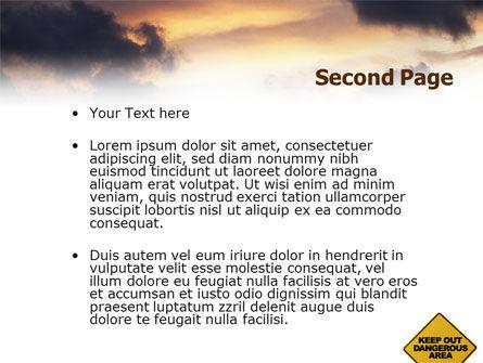Pollution PowerPoint Template, Slide 2, 01611, Nature & Environment — PoweredTemplate.com