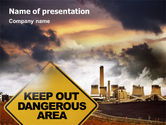 Nature & Environment: Pollution PowerPoint Template #01611