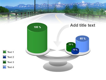 Highway In The Hill Country PowerPoint Template Slide 10