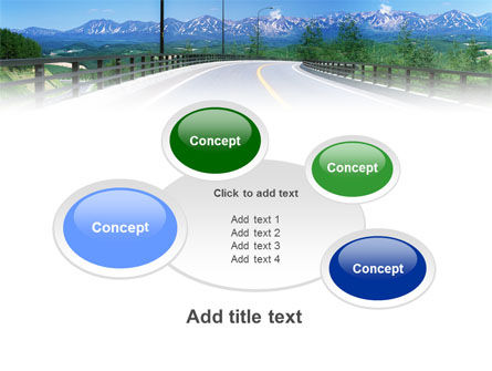 Highway In The Hill Country PowerPoint Template Slide 16