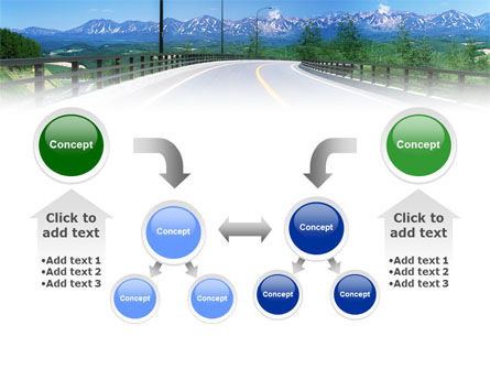 Highway In The Hill Country PowerPoint Template Slide 19