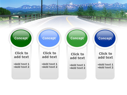 Highway In The Hill Country PowerPoint Template Slide 5